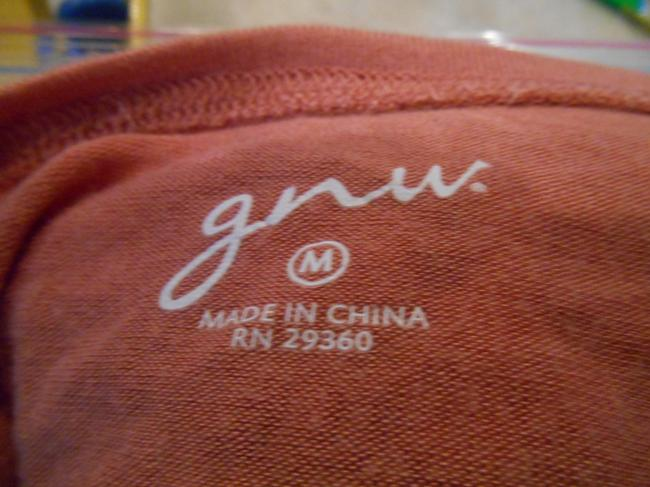 gnu Shirt Fine Guage Fine Guage Fine Knit Washable Medium 8 10 Sweater
