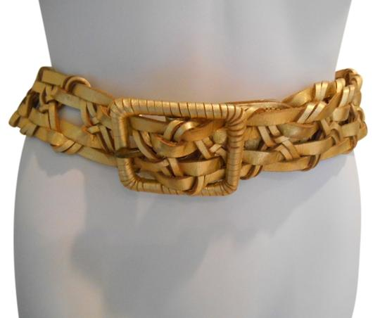 Preload https://item4.tradesy.com/images/hollister-gold-woven-real-leather-41-inches-xs-belt-942098-0-0.jpg?width=440&height=440