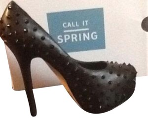 Call It Spring Black Platforms