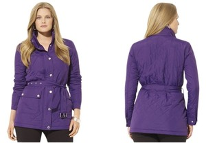 Lauren Ralph Lauren New With Tags Belted Coat
