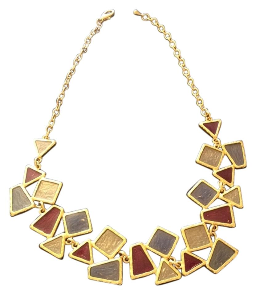 beautiful online necklace in maroon set stone for women india golden