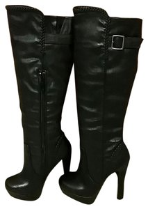 Other Otk Thigh High Winter black Boots