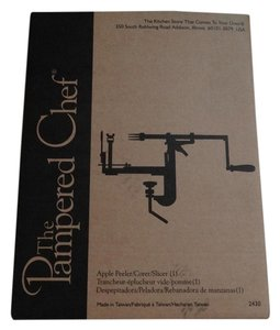 Pampered Chef THE PAMPERED CHEF Apple Peeler Corer Slicer in Box Apple Sauce Autumn