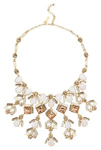 Kate Spade Unforgettable Kate Spade Baguette Statement Necklace NWT Amazing Array of Sparkling Faceted Baguettes!