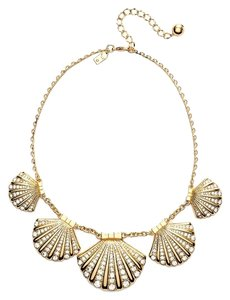 Kate Spade Beautiful Cruise Ship Necklace! Kate Spade Shore Thing Clam Necklace NWT Witty & Inspired!