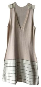 Fendi short dress Pink black and beige on Tradesy