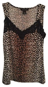 White House | Black Market Top Leopard
