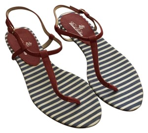 Brooks Brothers Red, white, blue Sandals