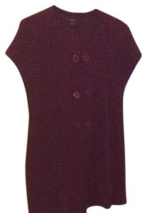 talie Red Tunic Sweater