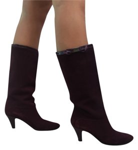CoSTUME NATIONAL Cnc Maroon Boots