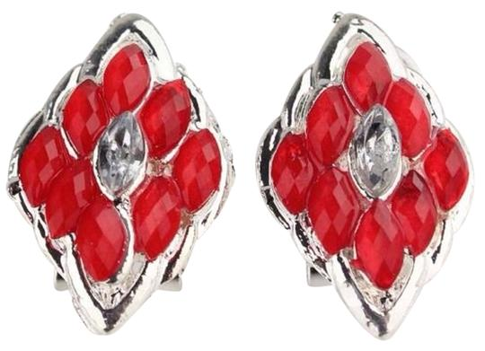Other Australia Red Crystal Gold Filled Earrings