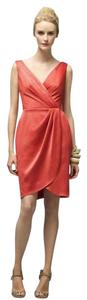 Lela Rose Length Satin Dress