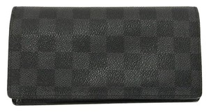 Louis Vuitton lvdsl11 Damier Graphite Brazza Wallet