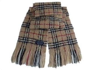 Burberry Ladies authentic Burberry London Scarf Shawl 78% Mohair 22% Made in Scotland