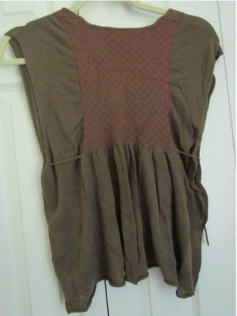 Free People Top Dark green