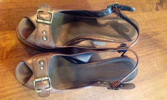 Paolo Bronze Wedges