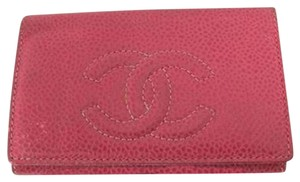 Chanel Caviar Key Case CCWLM22