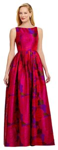 Adrianna Papell Sleeveless Floral Ball Gown Dress