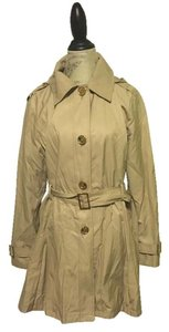 Michael Kors Khaki Trench Trench Coat