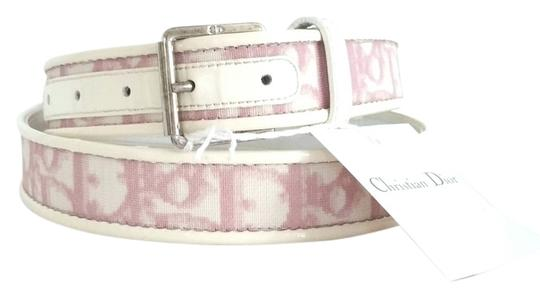 Preload https://item2.tradesy.com/images/dior-pink-and-white-girly-collection-belt-9432616-0-3.jpg?width=440&height=440