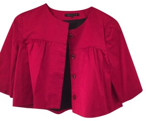 Theory Red Blazer