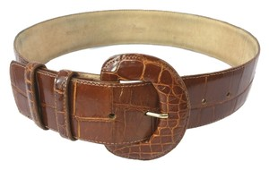 Saks Fifth Avenue SAKS FIFTH AVENUE GENUINE ALLIGATOR LEATHER BELT SMALL **LENGTH 25