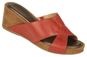 Naturalizer Wide Width Comfort Red Pepper Sandals