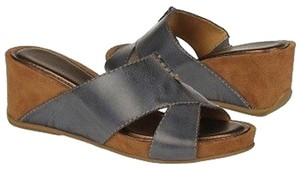 Naturalizer Wide Width Comfort Denim Sandals