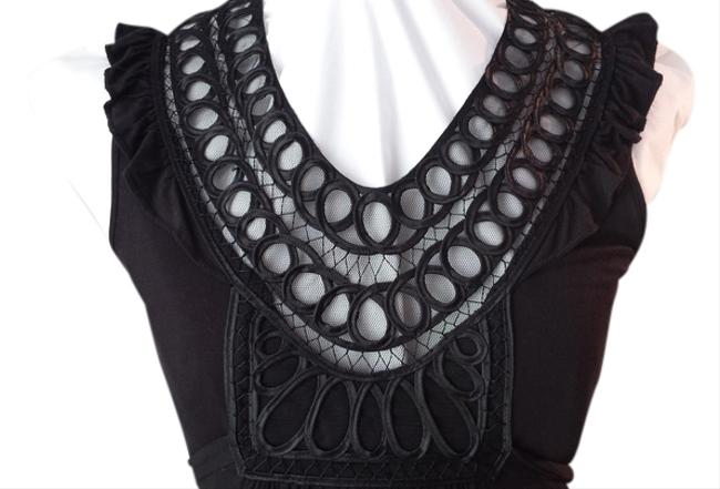 Sundance short dress Black Little Western Lace on Tradesy