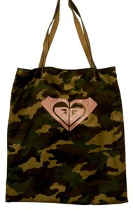 Roxy Sequin Camo Tote in Camouflage & Pink