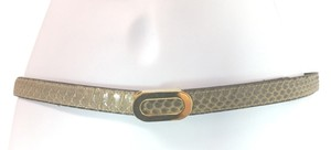 MORRIS MOSKOWITZ MORRIS MOSKOWITZ GENUINE REPTILE LEATHER BELT **LENGTH 29