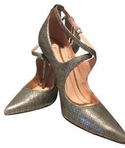 Enzo Angiolini Vintage Gold, Bronze Pumps