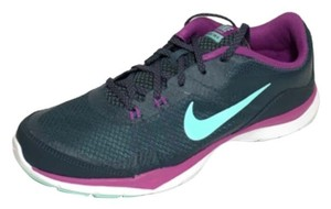 Nike Trainer Gym Running Workout Grey Charcoal Grey/Purple Athletic