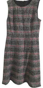 Talbots Sleeveless Tweed Classic Executive Pockets Dress
