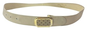 Salvatore Ferragamo SALVATORE FERRAGAMO LEATHER BELT MEDIUM