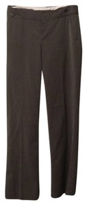 Banana Republic Wide Leg Pants Gray pinstripes