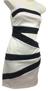 B. Darlin short dress White & Black on Tradesy