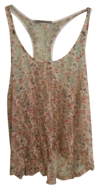 Preload https://item4.tradesy.com/images/cream-lace-pink-blue-floral-tank-topcami-size-8-m-943578-0-0.jpg?width=400&height=650