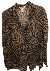 Allison Taylor Top Animal print