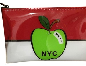 Macy's NYC Red/white/green Clutch