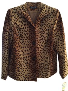 Jones New York Leopard print Blazer