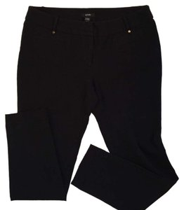 Alfani Straight Pants Blac