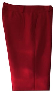 Banana Republic Holiday Office Party Trouser Pants Red