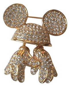 Disney Vintage Disney Mickey's Hat & Hands in Swarovski Crystal