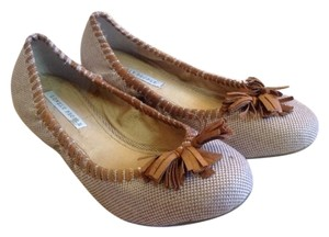Lovely People Dahila Tasse Nordstrom 8.5 Casual Anthropology Free Tan Flats