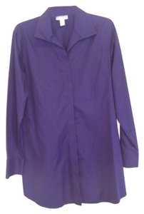 Chico's Top Aubergine (purple)