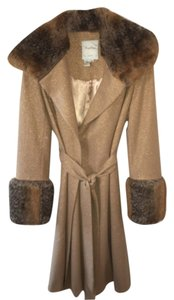 Tracey reese wrap wool and lorex coat Trench Coat