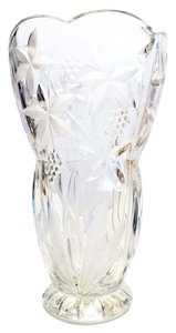 Mikasa Floral Vase; Star Flowers & Grape Clusters by Mikasa [ Roxanne Anjou Closet ]