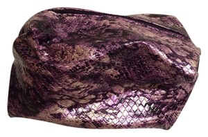 Tarte Tarte Cosmetics Purple Faux Python Bag