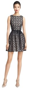 RED Valentino Black Lace Fit And Flare Sz It 46 Dress